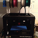 The Replicator 2 3D Printer