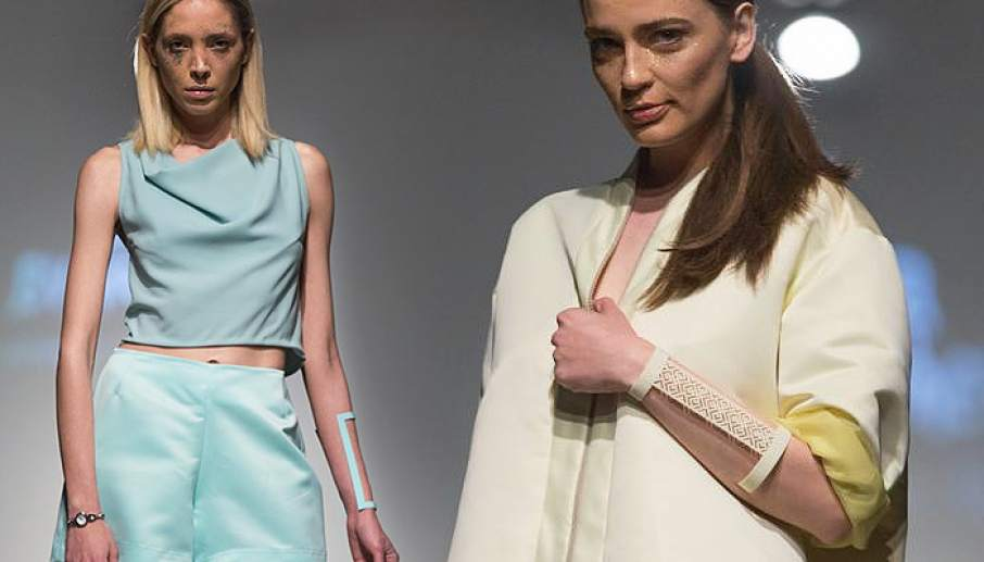 High fashion meets 3D printing with Irena Tosheva's new collection at SS16