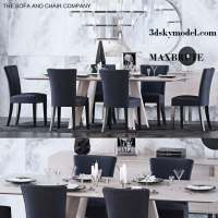Luxury dining table and chairs 23 - Maxbrute Furniture ...