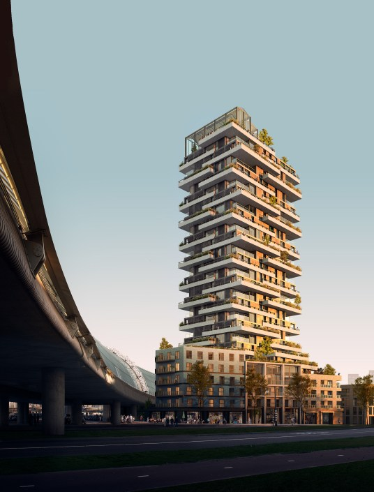 Civic & Rijboutt - Vertical and Curved