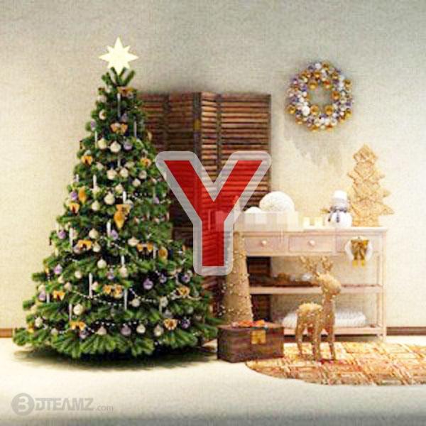 Christmas Tree Y 3d model