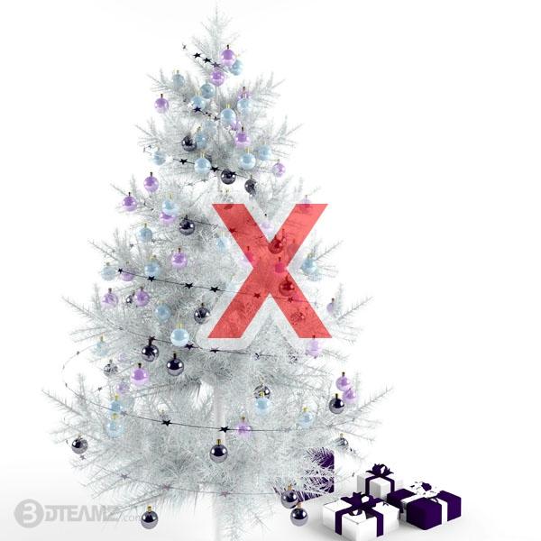 Christmas Tree X 3d model