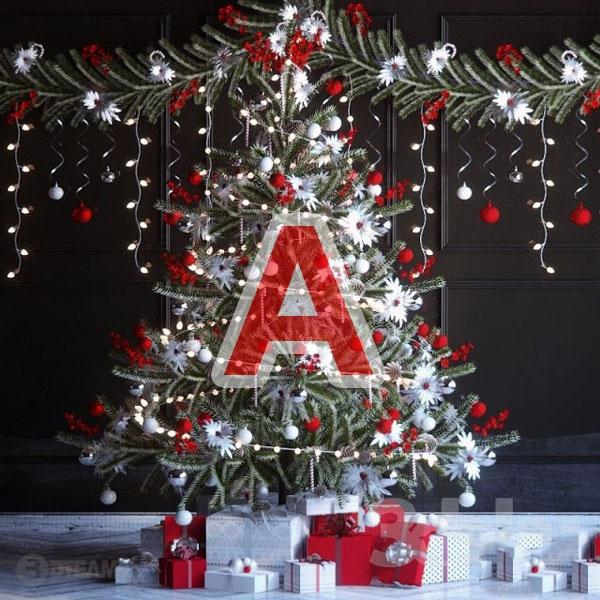 Christmas Tree A 3d model