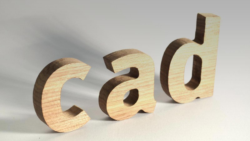 3D Wood Letters - CNC Routed 3D Wood Letters