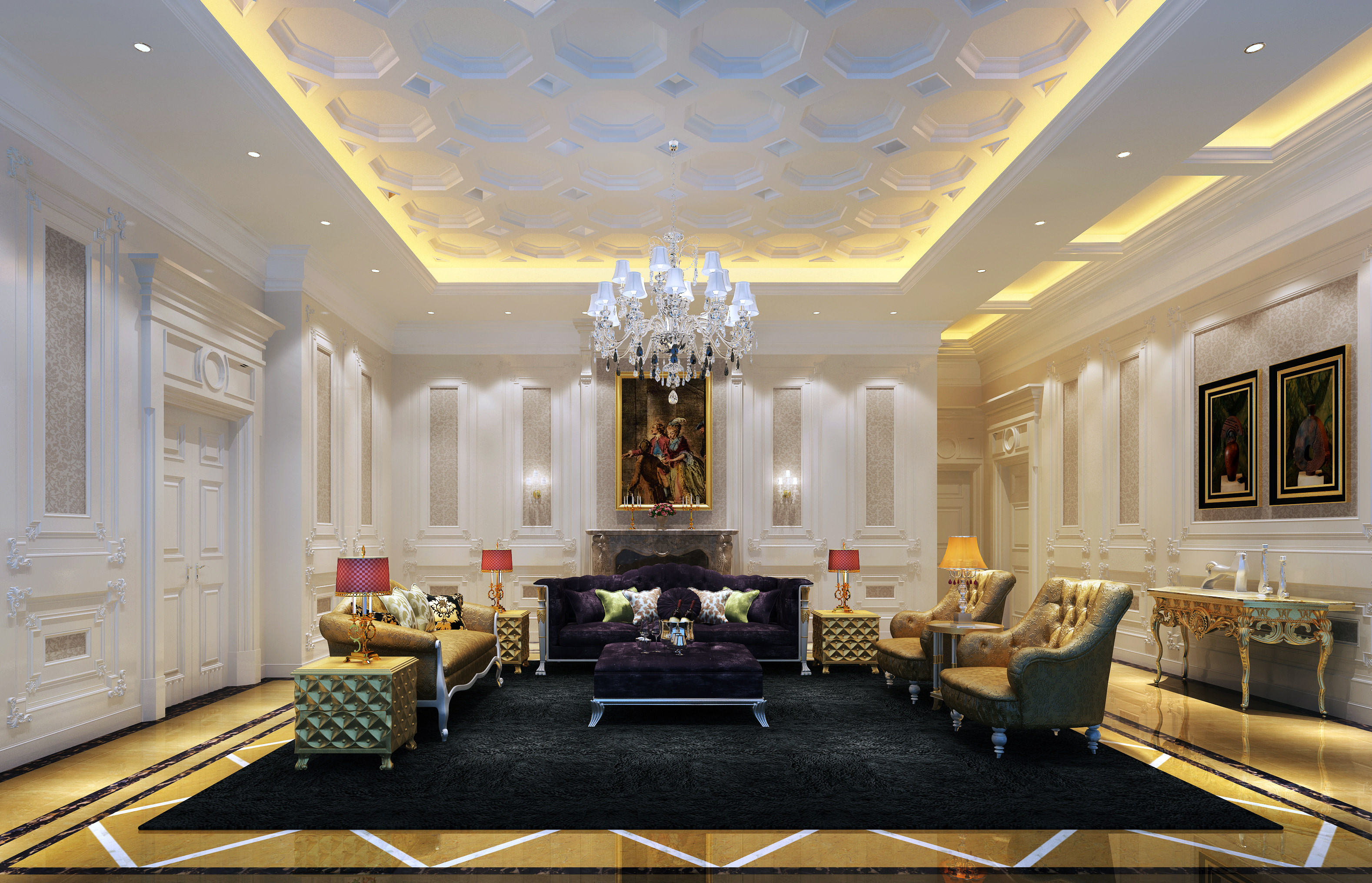 Salon Style Baroque | Salon Baroque Salon Must Haves Xx Pinterest Salons