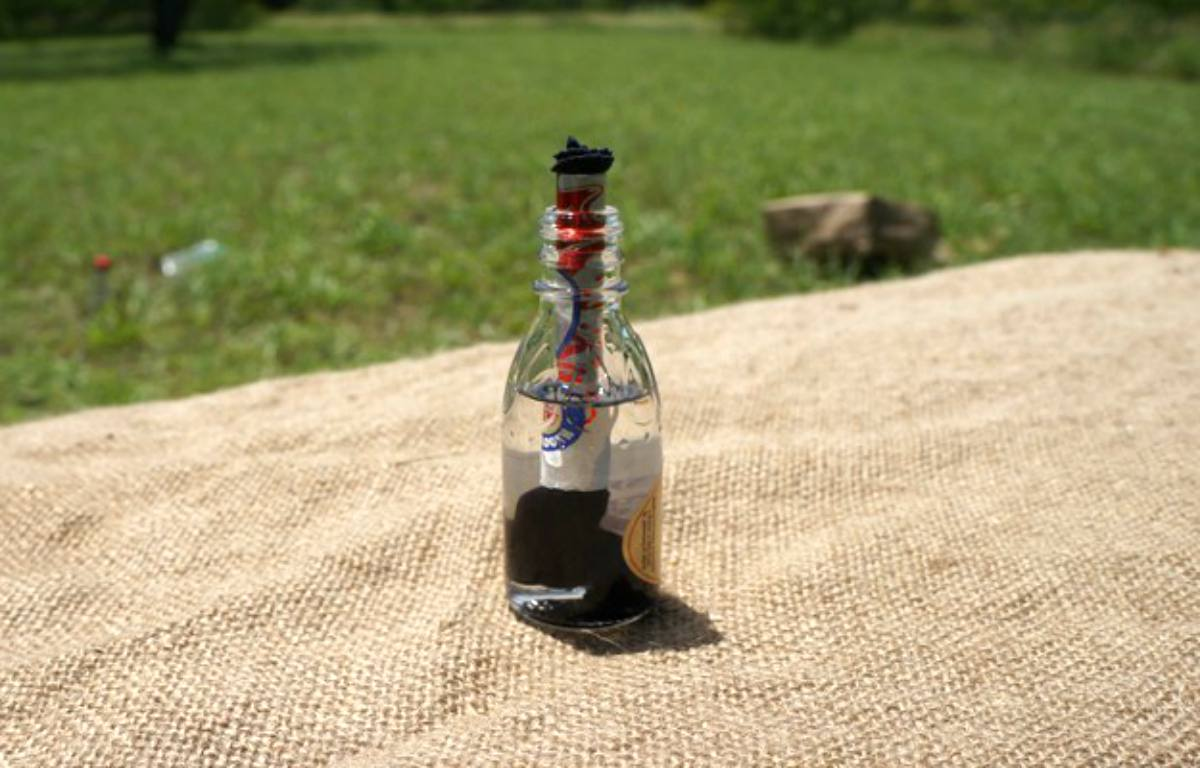 Diy Kerosene Lamp Camping Lantern Diy How To Make An Improvised Camping Lantern