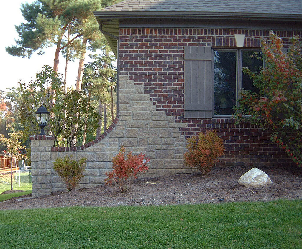 Brick Meubles Jardin Designing With Brick And Stone Architectural Stone Veneers