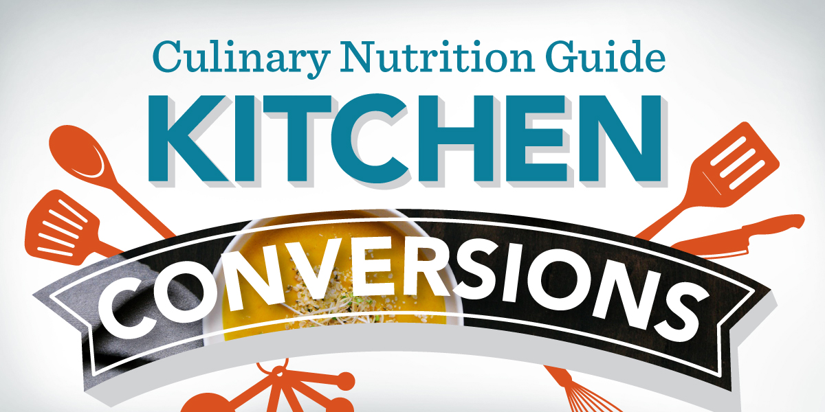 Printable Kitchen Conversion Chart - Academy of Culinary Nutrition