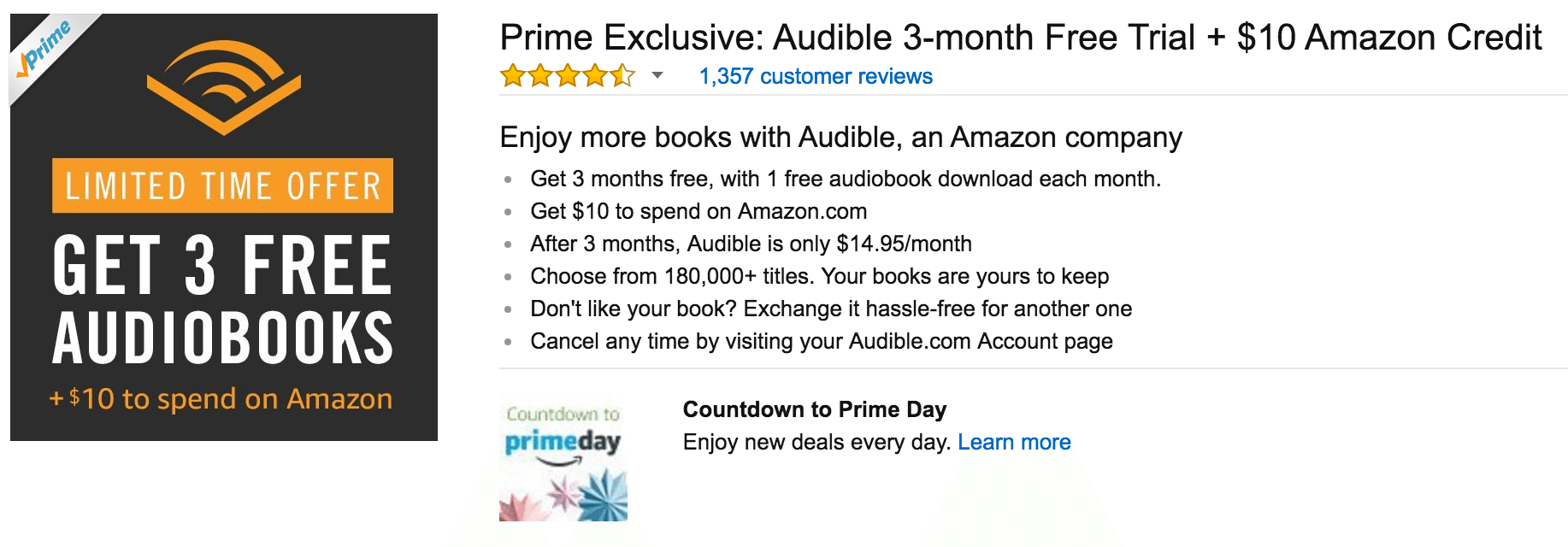 Amazon Audible Cancel Membership Free 10 Amazon With Audible Signup 3 Months Free Membership