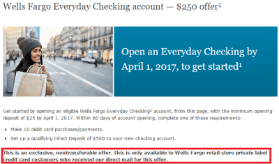 [Expired] Wells Fargo $250 Nationwide Checking Bonus - Doctor Of Credit