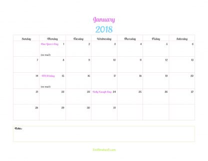 Printable Daily Planner 3 in 15 makes 5