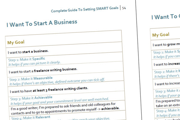 Smart Goals Template R Is For Relevant Smart Goals Template - smart goals template