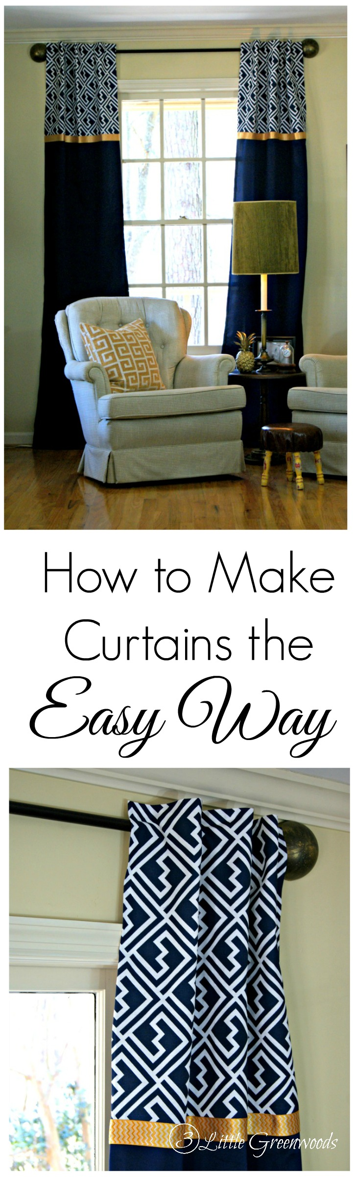 Make Curtains How To Make Curtains The Easy Way