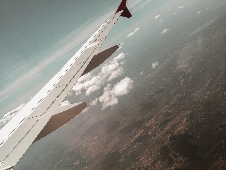 Mijn eerste keer vliegen