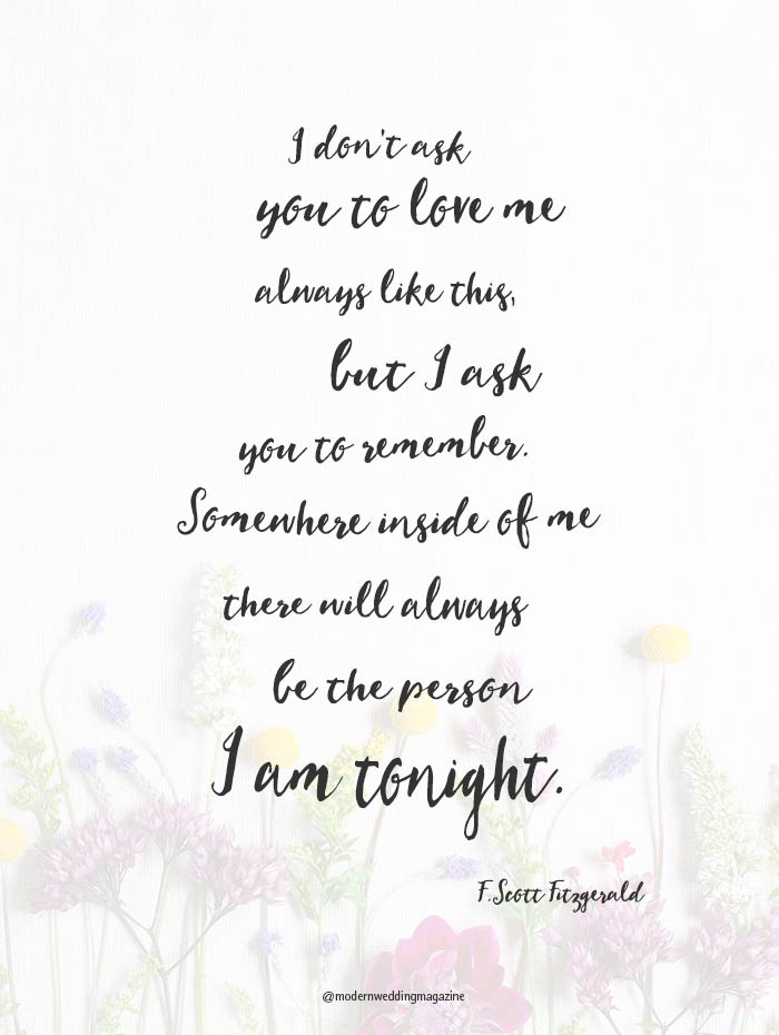 Romantic Wedding Day Quotes That Will Make You Feel The Love