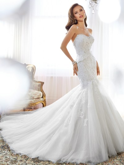 Sophia Tolli Spring 2015 Collection - Modern Wedding