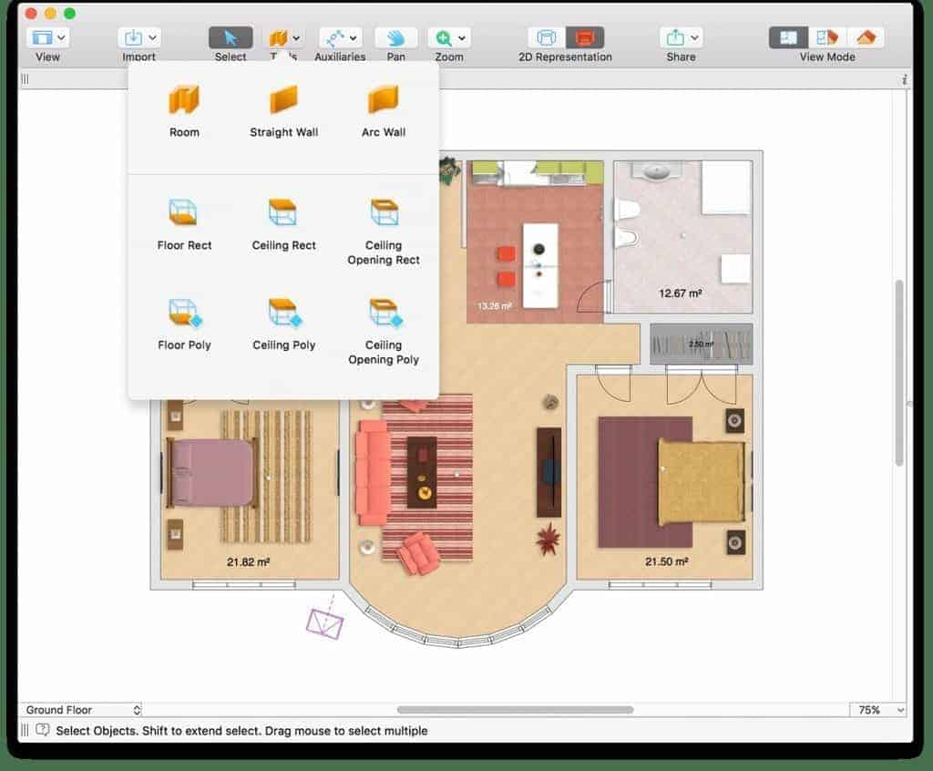 Homestyler Free Kitchen Design Software Top 12 Home Design Floor Plan Software For Mac 2019