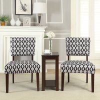 3 PC Occasional Office Home Accent Chair Chairside Side ...