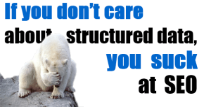 if you don't care about structured data