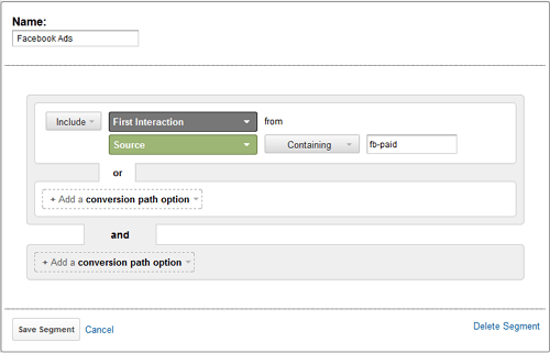 tracking in google analytics