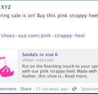 news feed ad