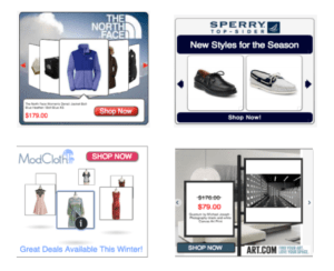 Dynamic Remarketing Ads Examples
