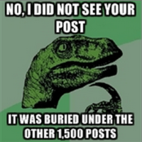 posts in the newsfeed