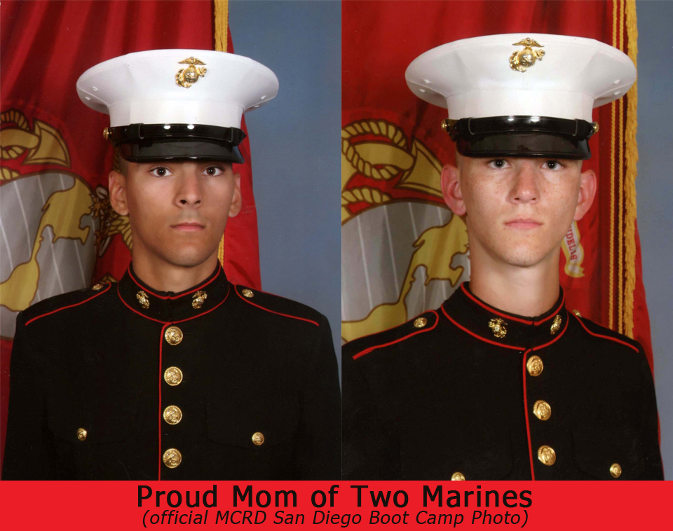 My Marine Mom Letter to the United States Marines - 3 Quarters Today