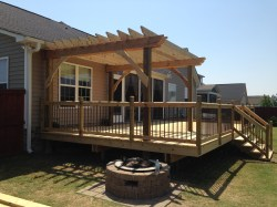 Small Of Deck With Pergola