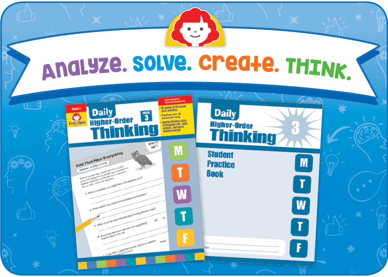 Save 20 Off The Daily Higher Order Thinking Books My