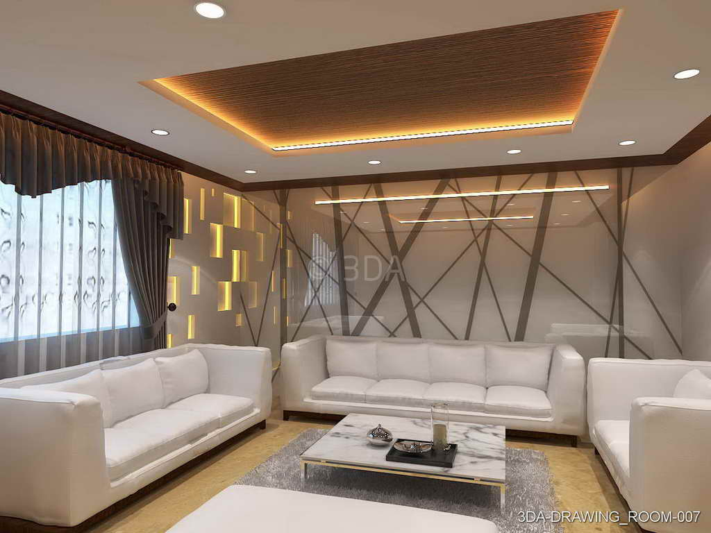 Drawing Room Decoration 3da Best Drawing Room Interior Decorators In Delhi And