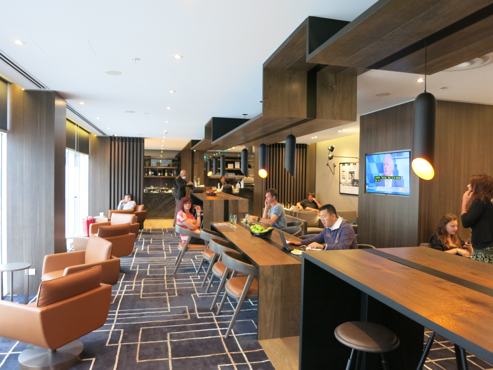 Lounge Sydney Review American Express Lounge Sydney