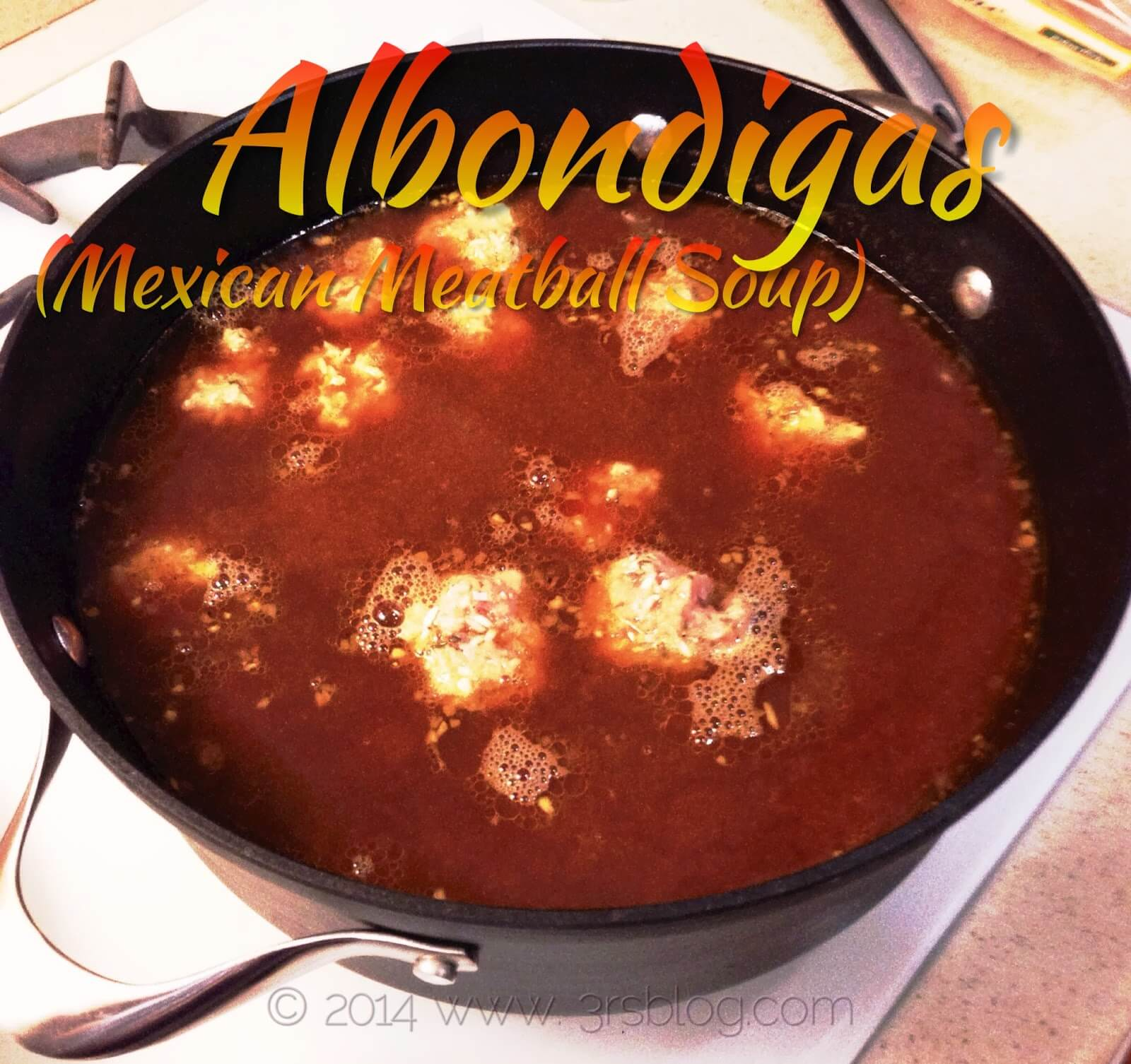 Weekend Cooking: Albondigas (Mexican Meatball Soup)