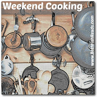 Sunday Salon: Thankfully Reading, and (Weekend) Cooking Too!