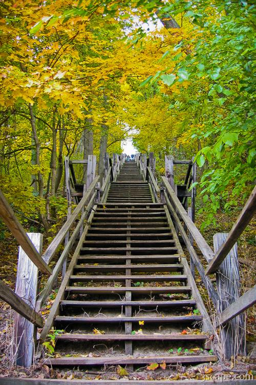 Art Gallery Stock Images Long Staircase To Mount Baldhead Photograph Landscape