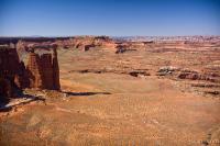 Rock pillars in Canyonlands National Park Photograph ...