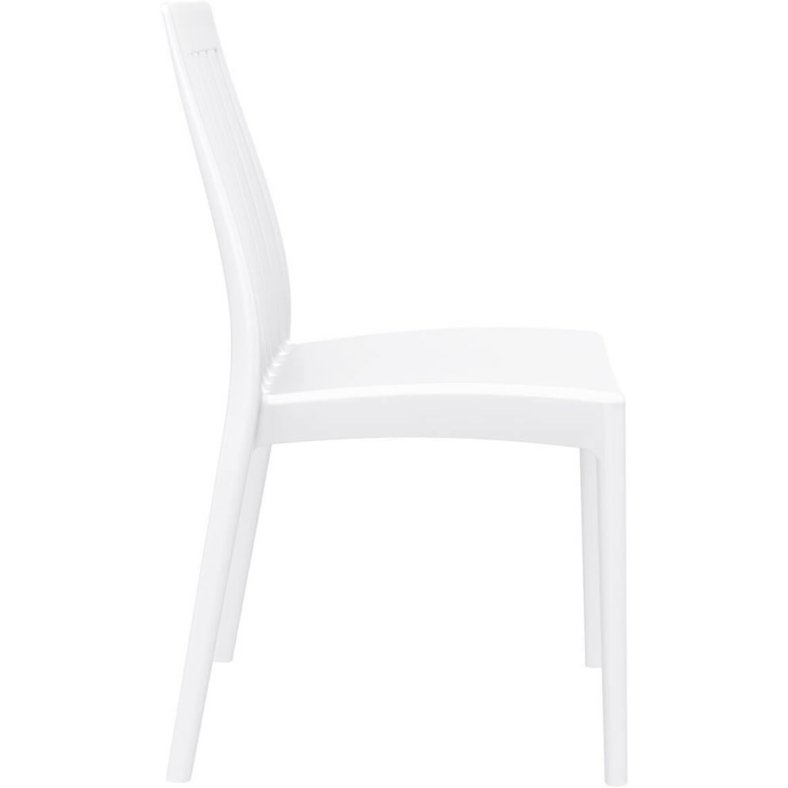 Chaises Design Blanche Chaise Design Blanche Samy 3 Suisses