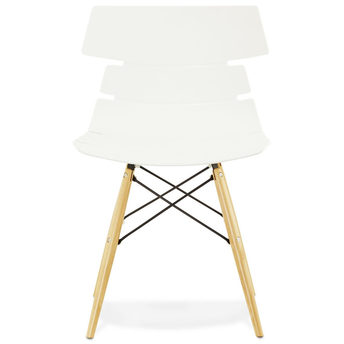 Chaises Blanche Scandinave Chaise Blanche Style Scandinave Trixa 3 Suisses