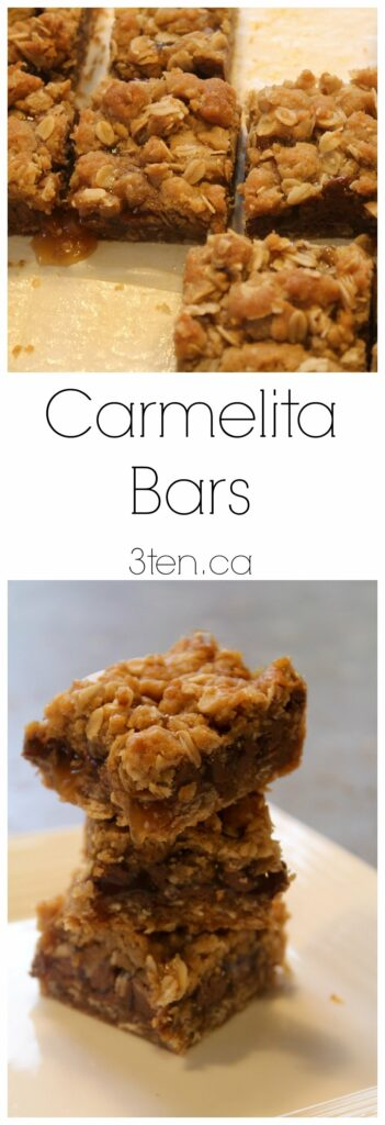 Carmelita bars. The perfect treat. Milk chocolate, creamy caramel, and ...