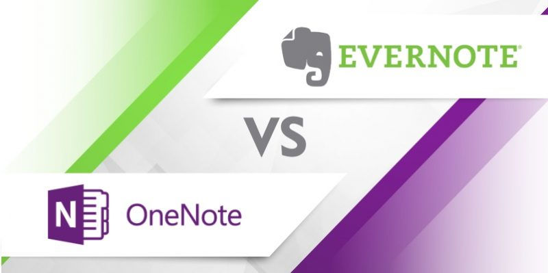 Evernote vs OneNote 2019 Comparison What\u0027s the best note taking app?