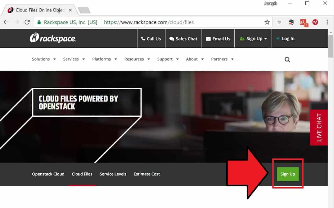 Getting Started with Rackspace Cloud Files - racksapce