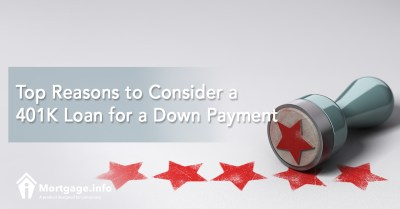 Top Reasons to Consider a 401K Loan for a Down Payment - Mortgage.info
