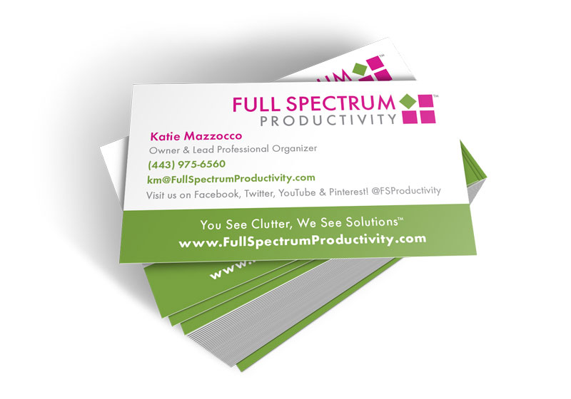 Use Your Business Cards to List Social Networks  Calls-to-Action