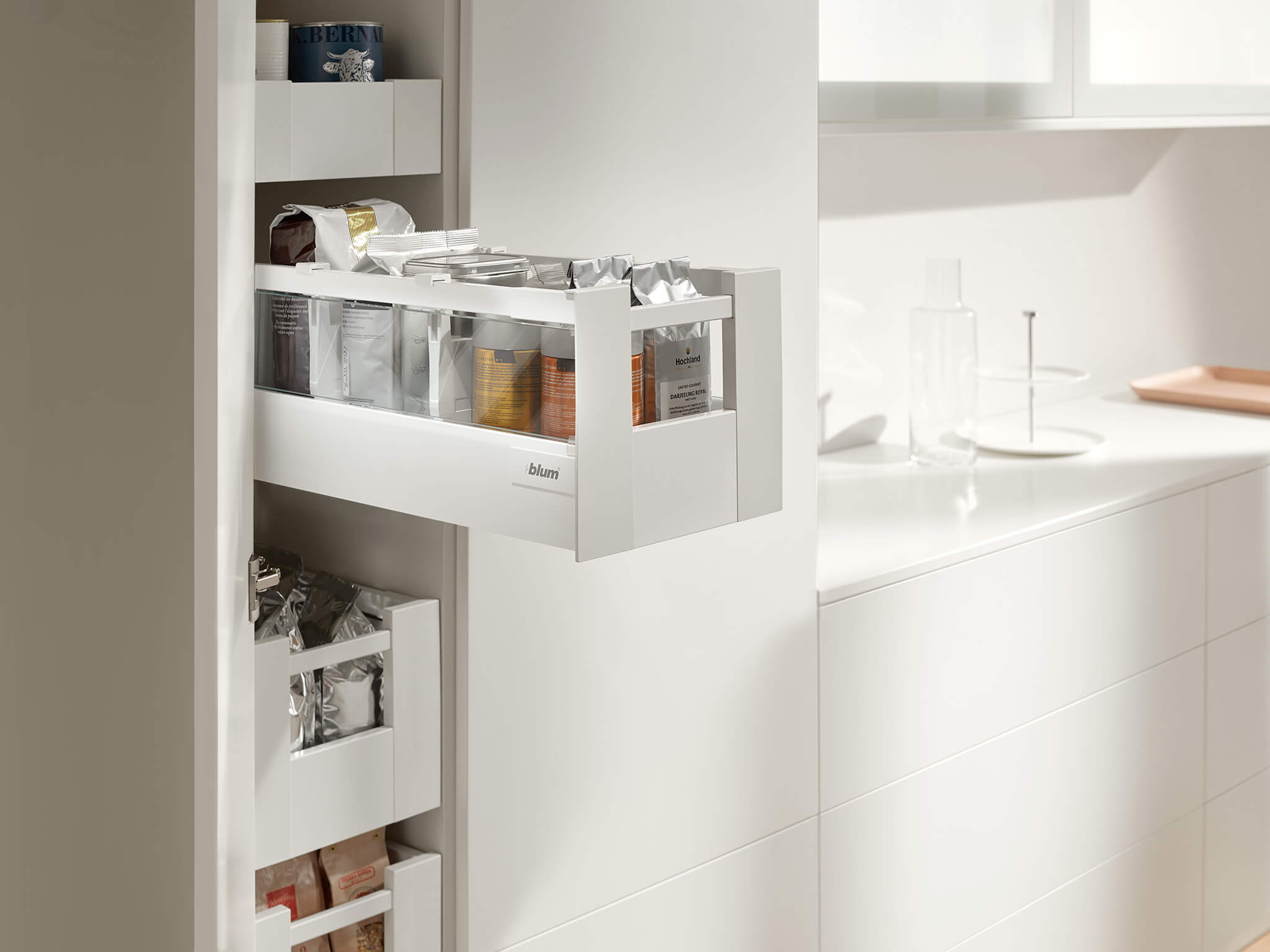 Blum Küchen Space Tower The Ultimate Solution For Larder Units