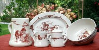 Shop Texas Dinnerware Western Style Dish Sets - Texas Home ...