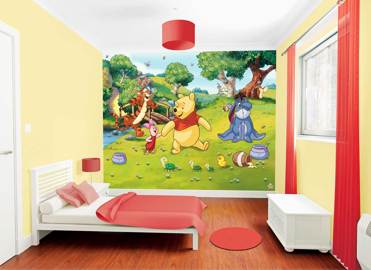 Piraten Kinderzimmer Gestalten Walltastic Fototapete Kinderzimmer Winnie The Pooh