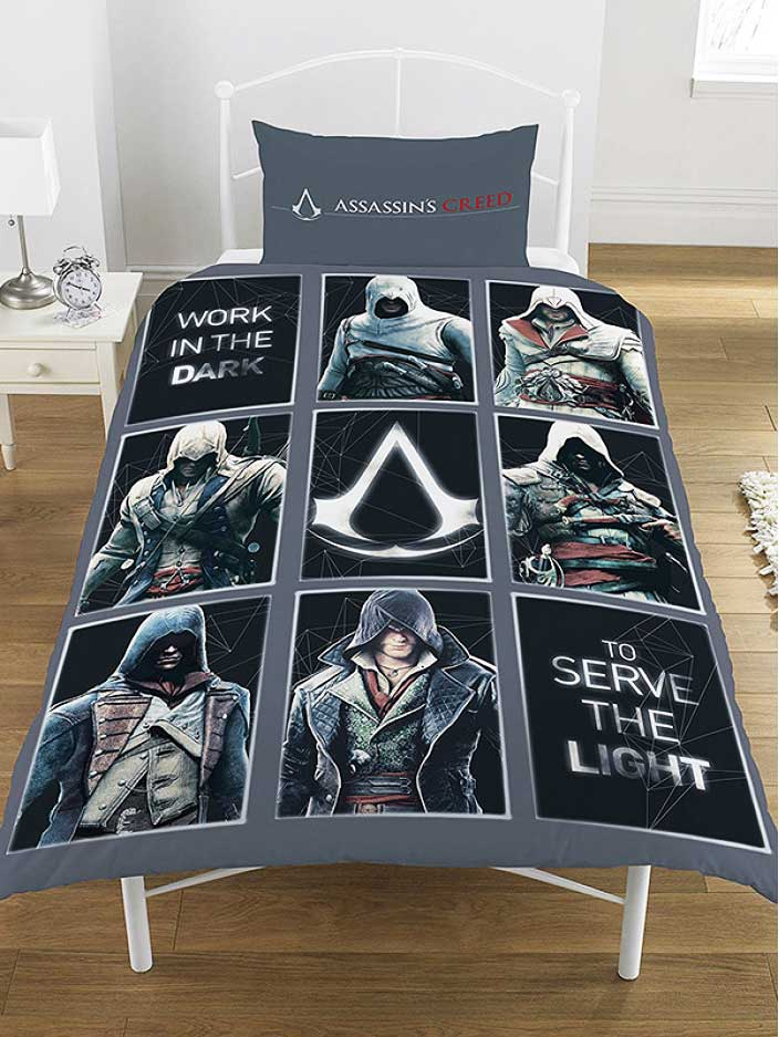 Ac Dc Bettwäsche Bettwäsche Assassins Creed Legacy-bettwäsche