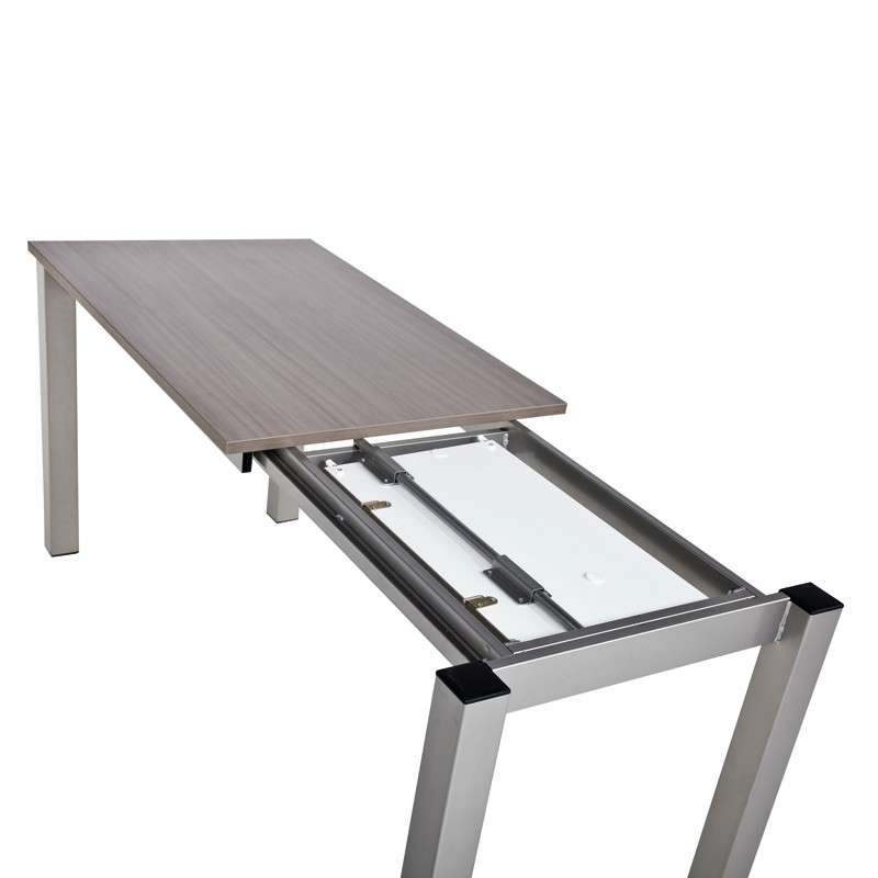 Table Haute Extensible Table De Cuisine Snack Rectangulaire Extensible En