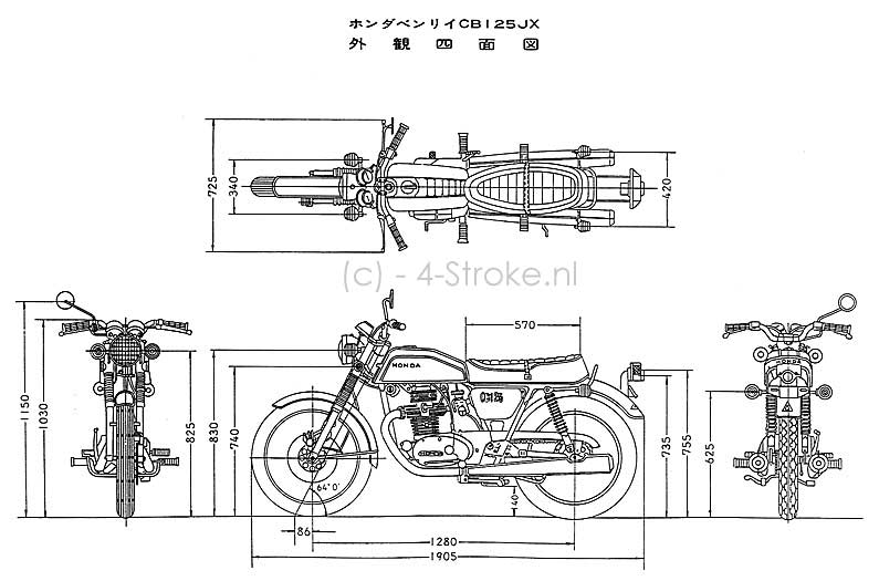 1974 honda cb125s wiring diagram