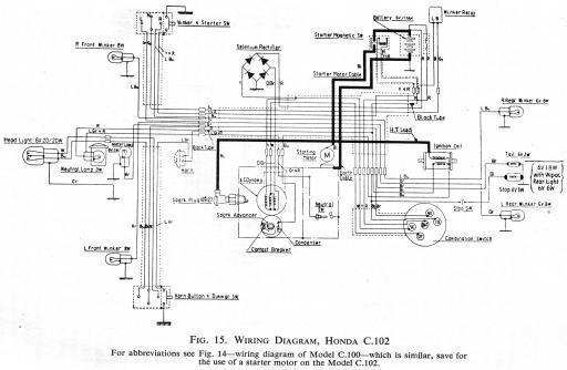 Honda Cl77 Wiring Diagram Wiring Diagram